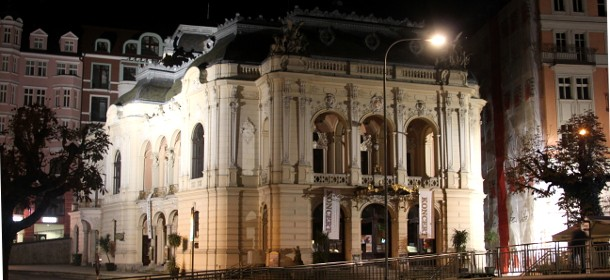 Das Nationaltheater in Karlsbad