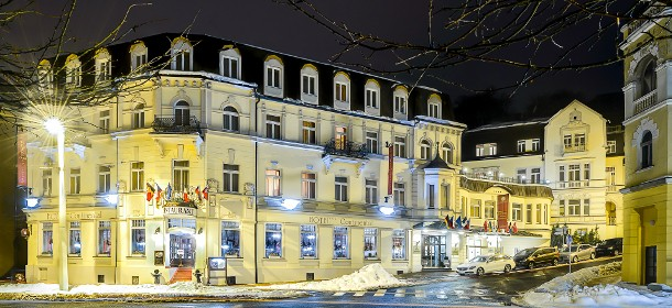 Das 4-Sterne Spa & Wellnesshotel Continental in Marienbad