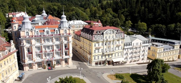 Das 4-Sterne Superior Danubius Spa Resort Hvezda in Marienbad
